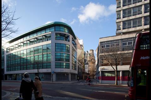 HOK's Fisher Street Crossrail development